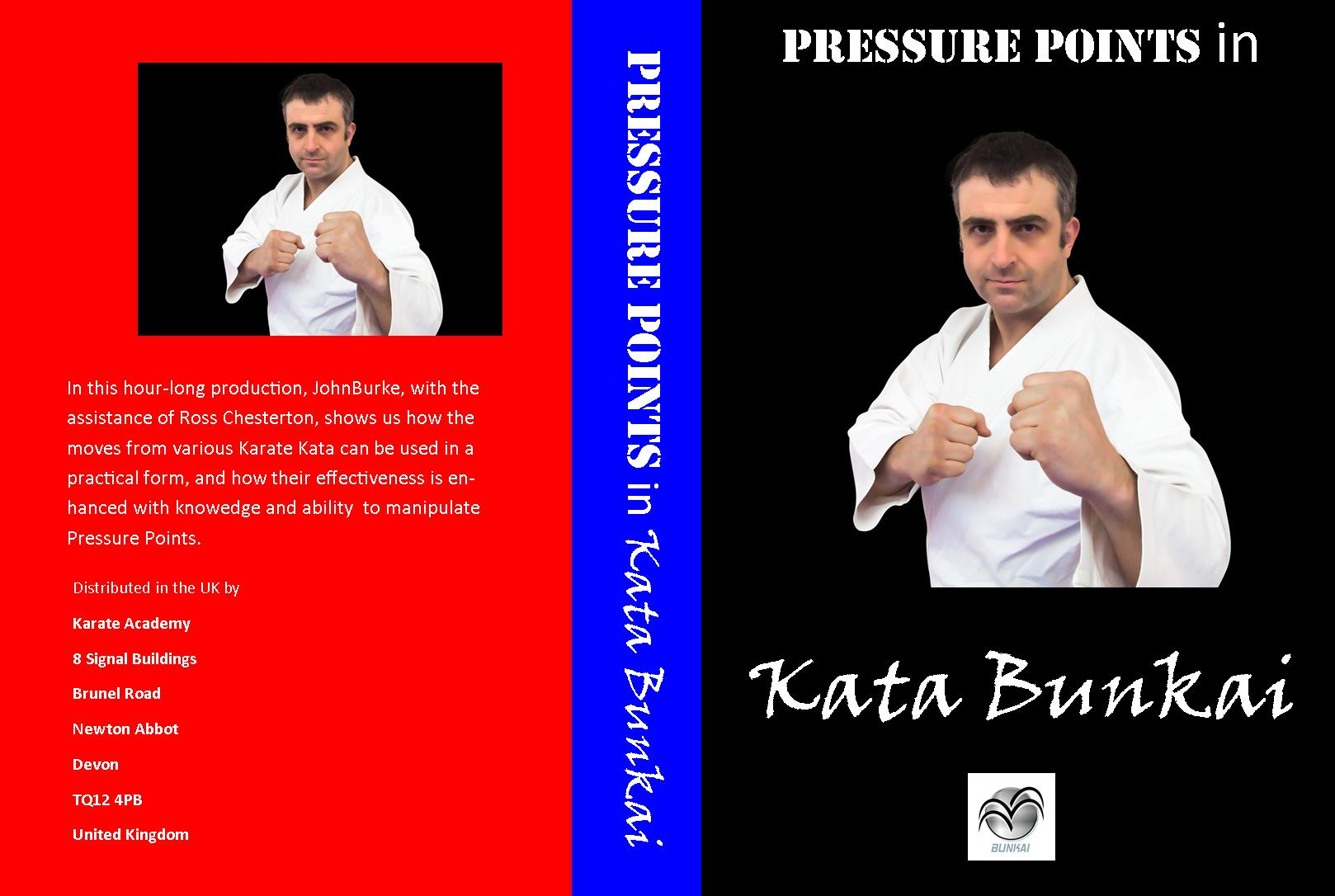 bunkai pressure points
