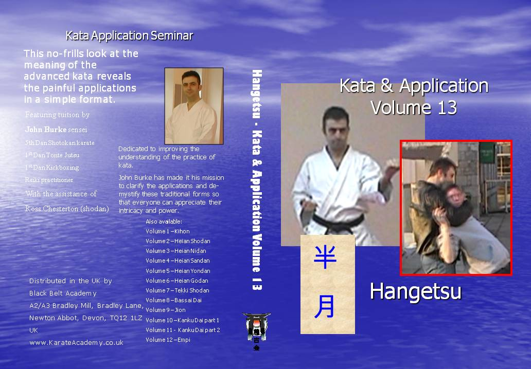 hangetsu bunkai applications